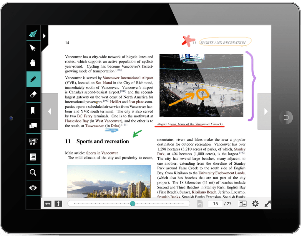 ActiveTextbook Annotations